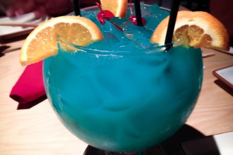 Blue Ocean Punch Bowl