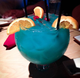 Blue Ocean Punch Bowl