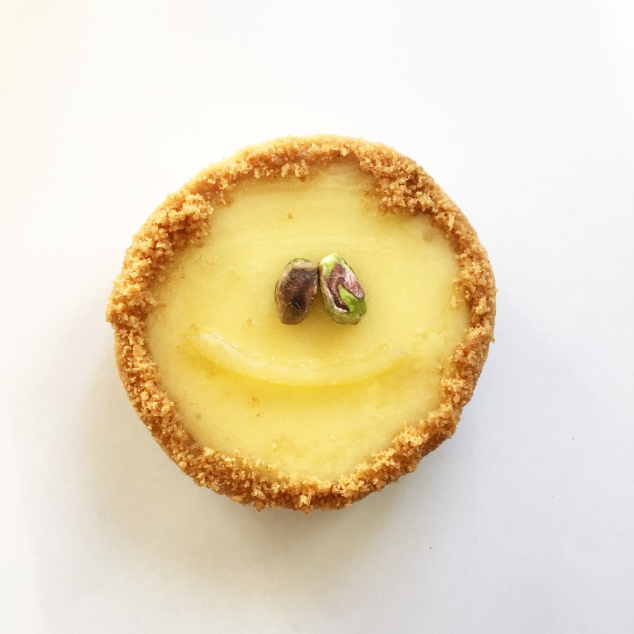 pistacia vera lemon tart dessert